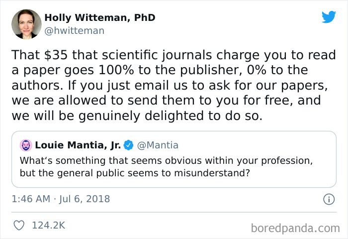 Don't Pay For Scientific Journals