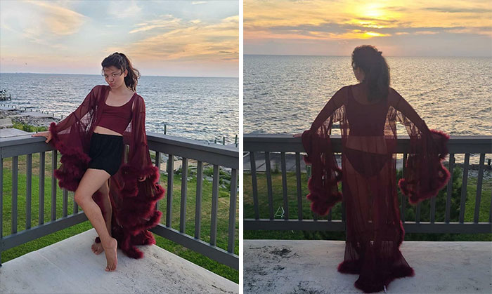 """Made One Of Those """"My Rich Husband Died Of Mysterious Circumstances"""" Robes And I've Never Felt More Powerful"""