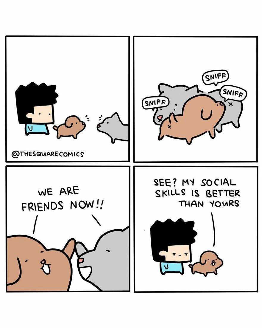 Fun Square Comics, Part 3