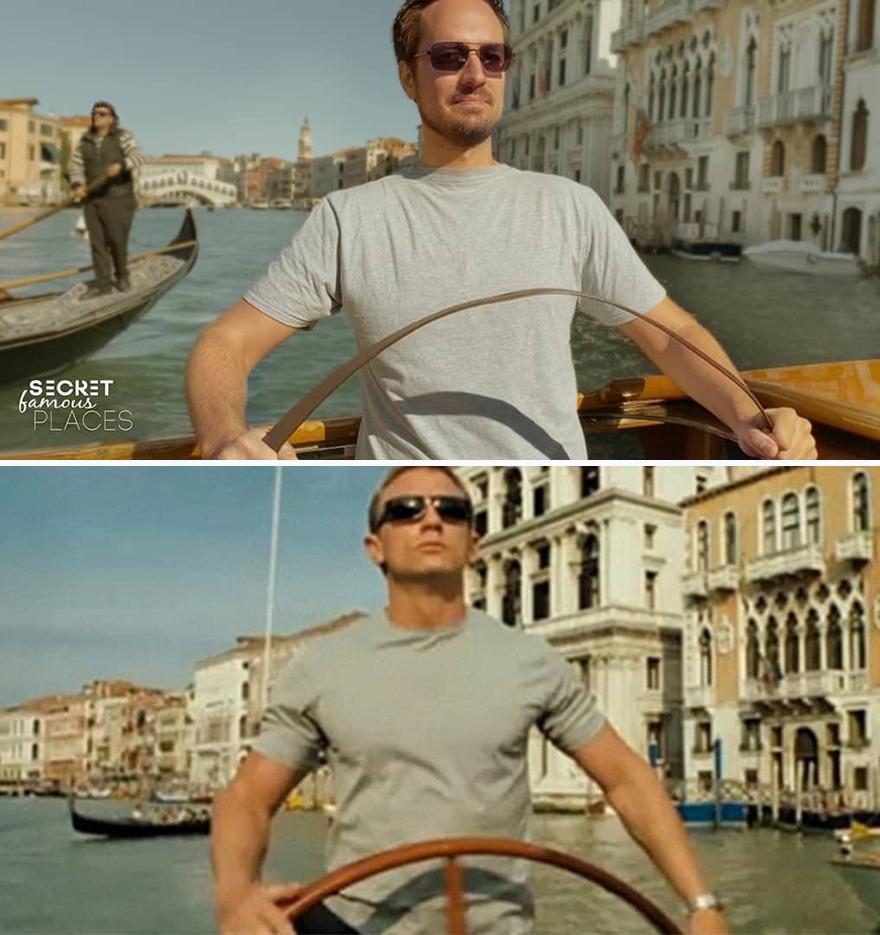 James Bond / Venice, Italy