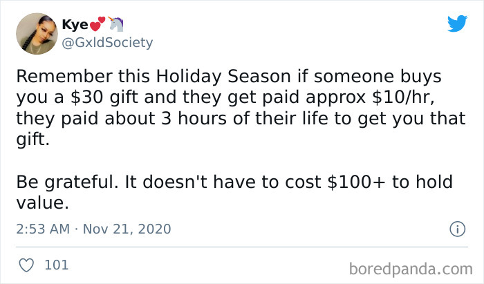 Just A Holiday Reminder