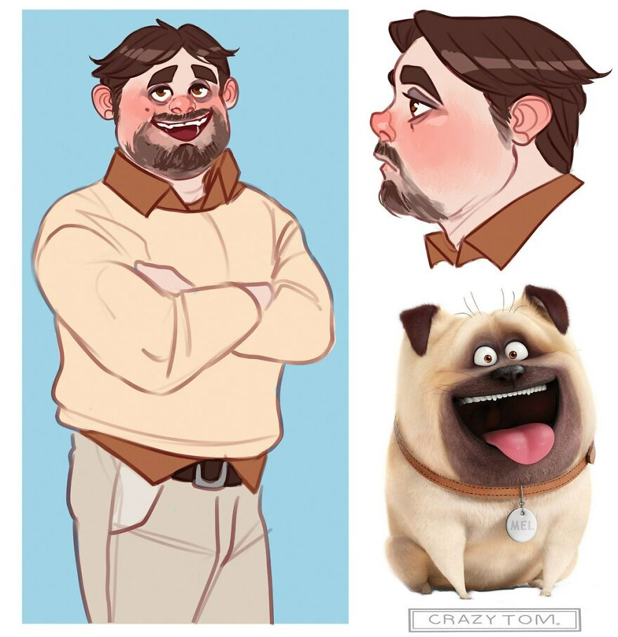 Mel from The Secret Life of Pets.