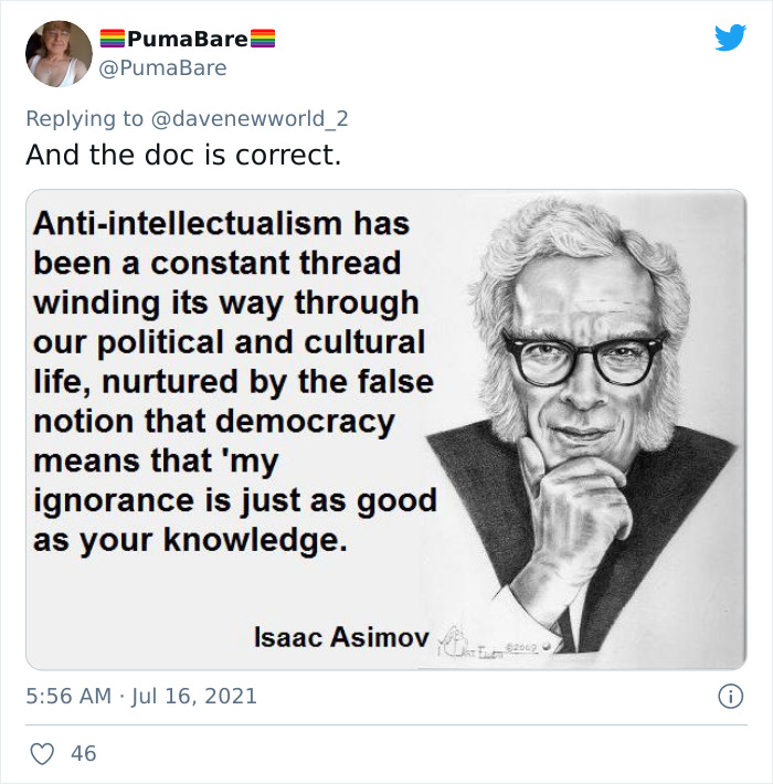 Doctor Is Going Viral For Shutting Down Anti-Vaxxers Who Claim Their Opinion Is Just As Valid As His