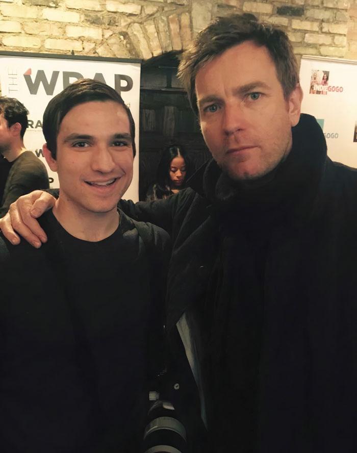 I Met The Great Hello There Himself [Ewan McGregor]