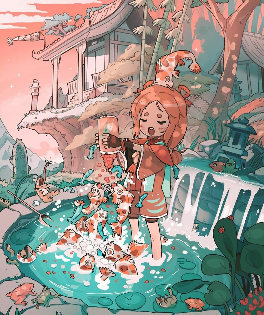 Artist Creates Magical And Whimsical Illustrations