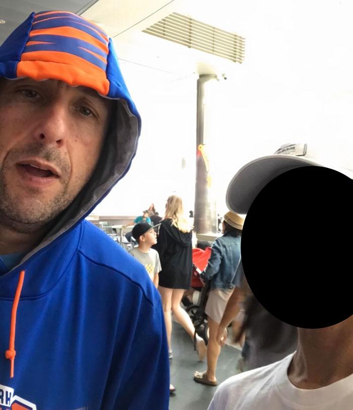 I Met A Man At A Food Court [Adam Sandler]