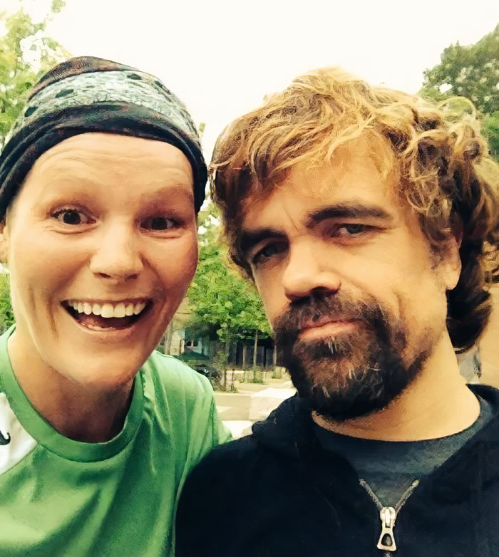 Met The Nicest Guy [Peter Dinklage] While Playing Soccer In Toronto. I Was A Little Too Excited I Think