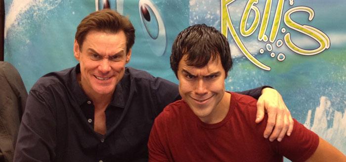I Met Jim Carrey! Awkward...