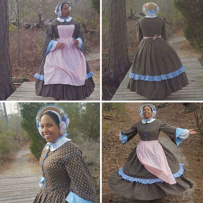 Made An Entire 1850's Outfit. Lots Of Work, But Totally Worth It!