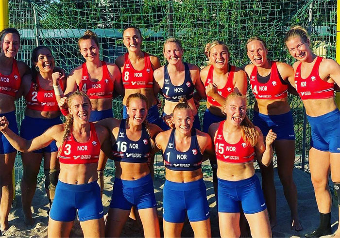 People Are Confused And Enraged About The Decision To Fine The Norwegian Women's Handball Team For Choosing To Wear Shorts Instead Of Bikini Bottoms