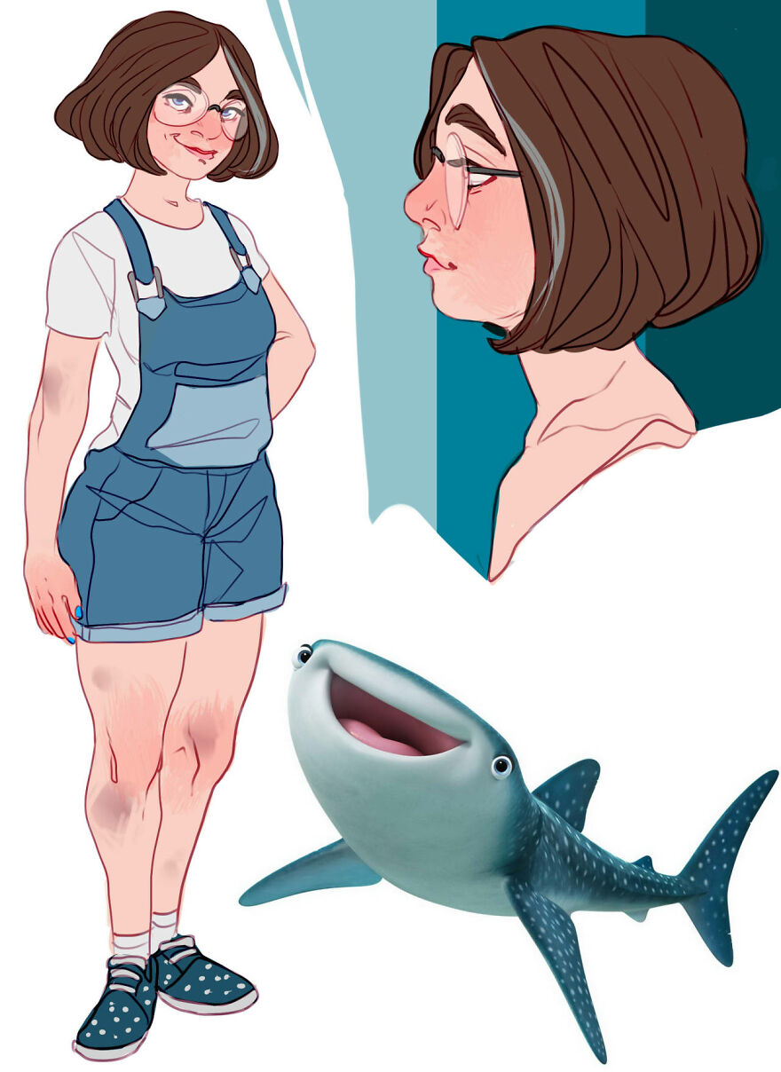 Destiny from Finding Dory.