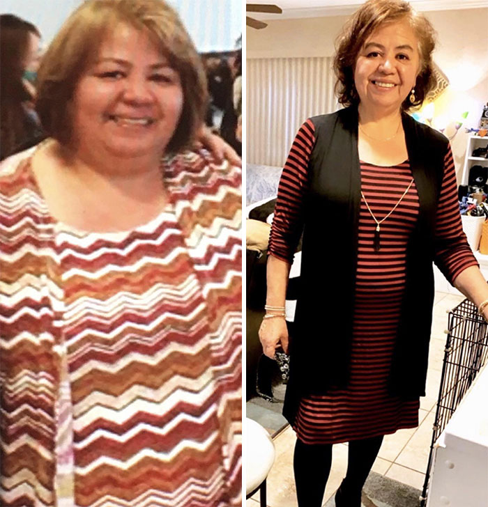 My Mom Is Almost In Her 60's And Started Her Weight Loss Journey Around This Time Last Year! 85 Pounds Down!! It's Never Too Late To Change Your Life!