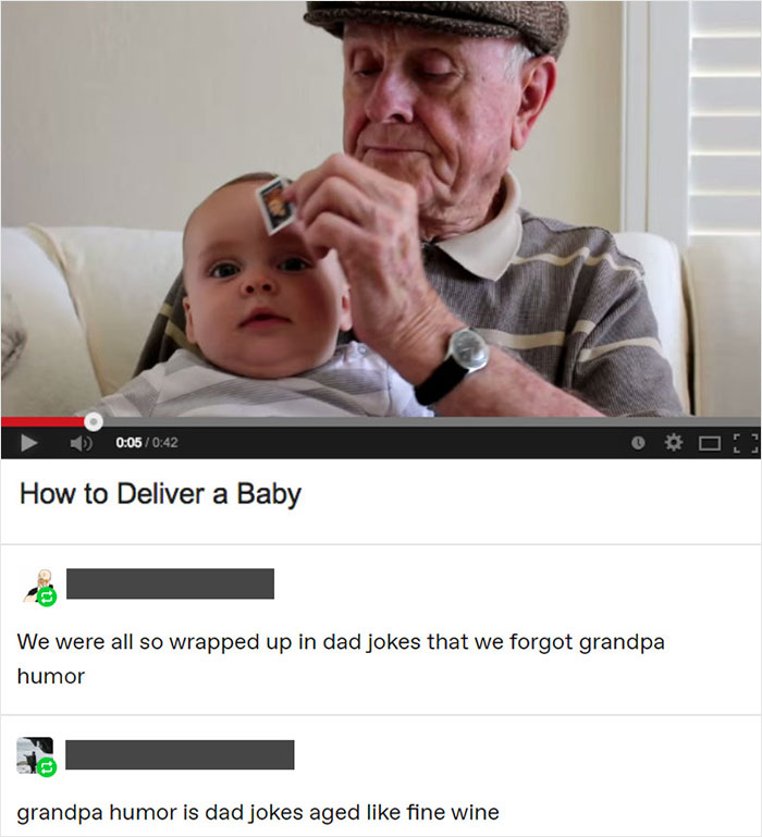 Grandpa Humor Is My All-Time Favourite