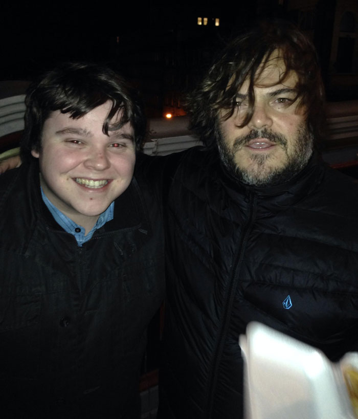 I Met Jack Black Tonight. He Looked Into My Eyes And Said 'It's Like Looking In A Young Mirror'