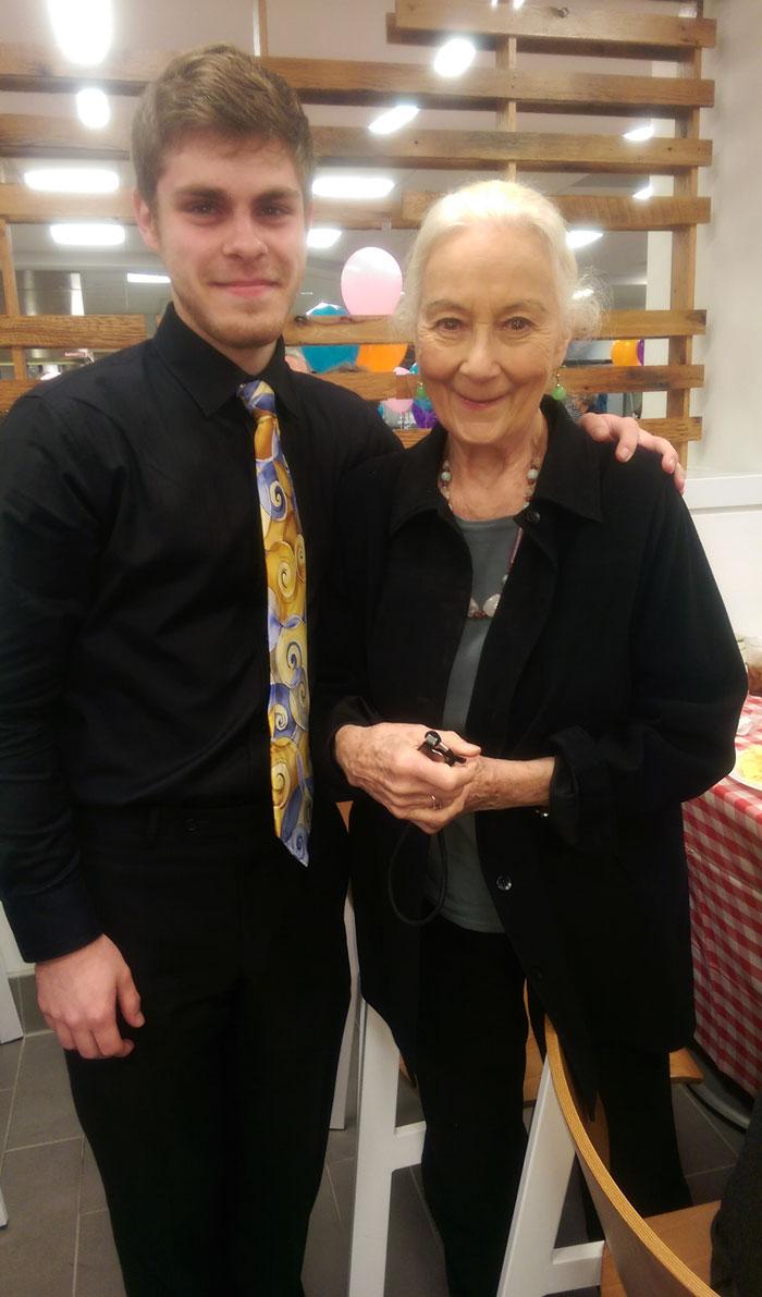 I Met Aunt May [Rosemary Harris] Today