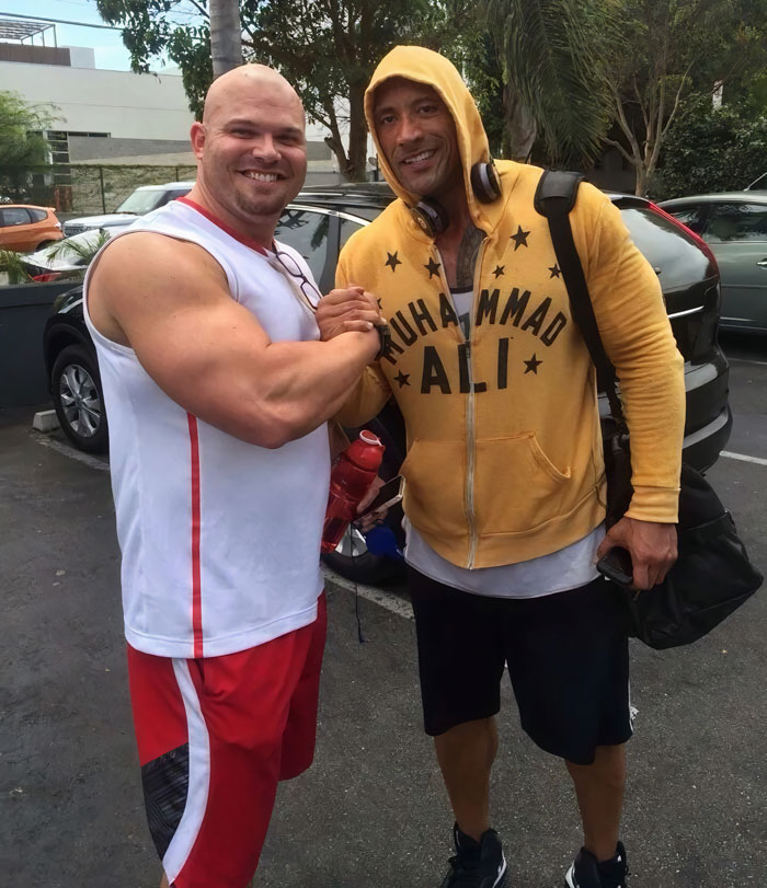 Met The Nicest Guy [Dwayne 'The Rock' Johnson] At Work Today