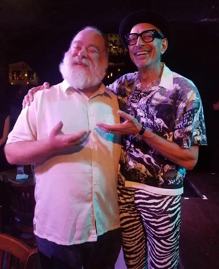 My Buddy Met This Strange Dude Wearing A Dinosaur Shirt And Zebra Pants [Jeff Goldblum]