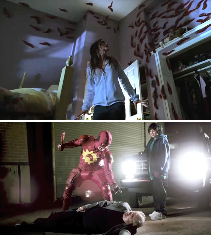 Slither (2006) And Super (2010)