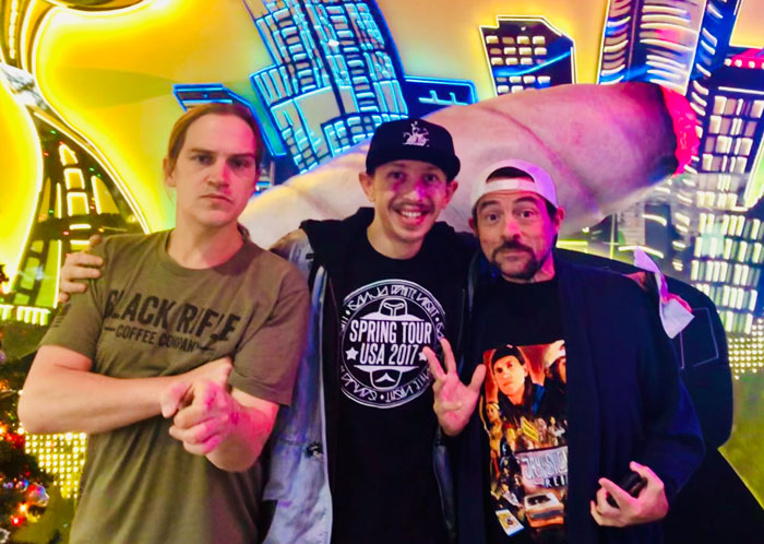 I Ran Into Jay [Jason Mewes] And Silent Bob [Kevin Smith] Today In Seattle At The Dispensary!