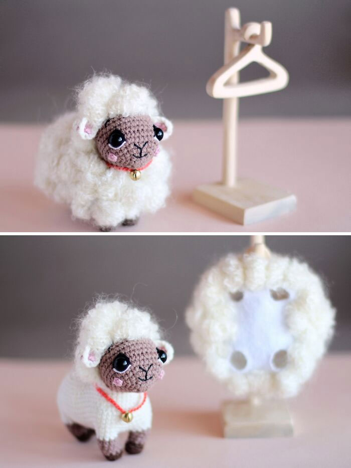 I'm Happy To Show You My New Sheep Design. I Don't Really Like To Make Clothes For Toys But This Fur Coat Had Been Made In One Breath, As The Sheep Itself