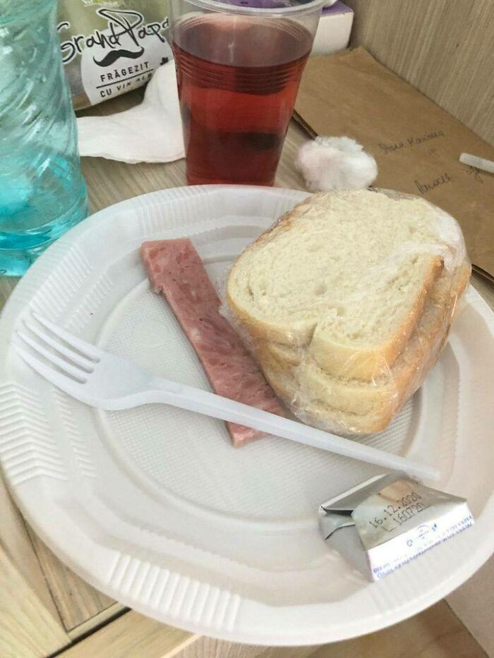 Hospital Lunch In Romania