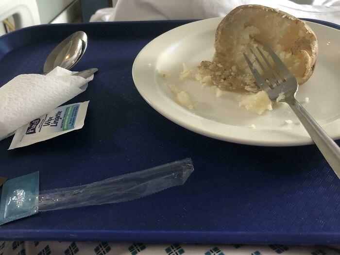 Vegan Hospital Food: Potato