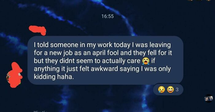 Friend Of Mine Didn't Get The Reaction He Hoped For