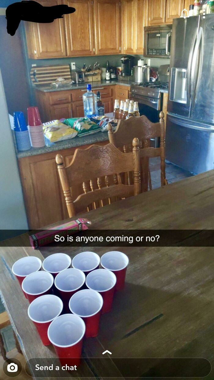 No One Came To His Party