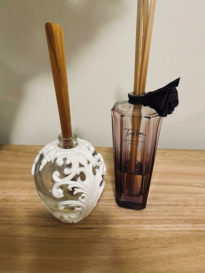 I Turned Old Perfume Bottles Into Room Diffusers