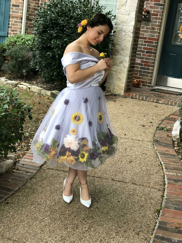 Made My Own Homecoming Dress