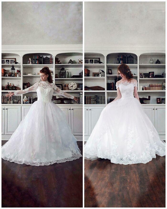 My DIY Thrift-Flipped Wedding Dress