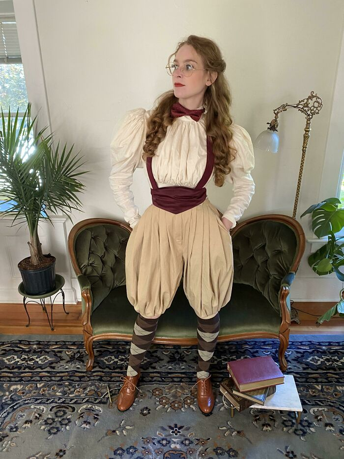I Made Some Professor-Y Clothes For The 1890s (Pattern Hacked)