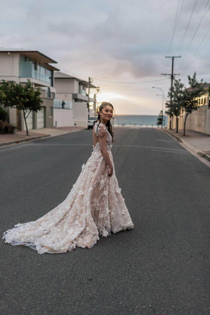 I Made My Wedding Dress (No Pattern)