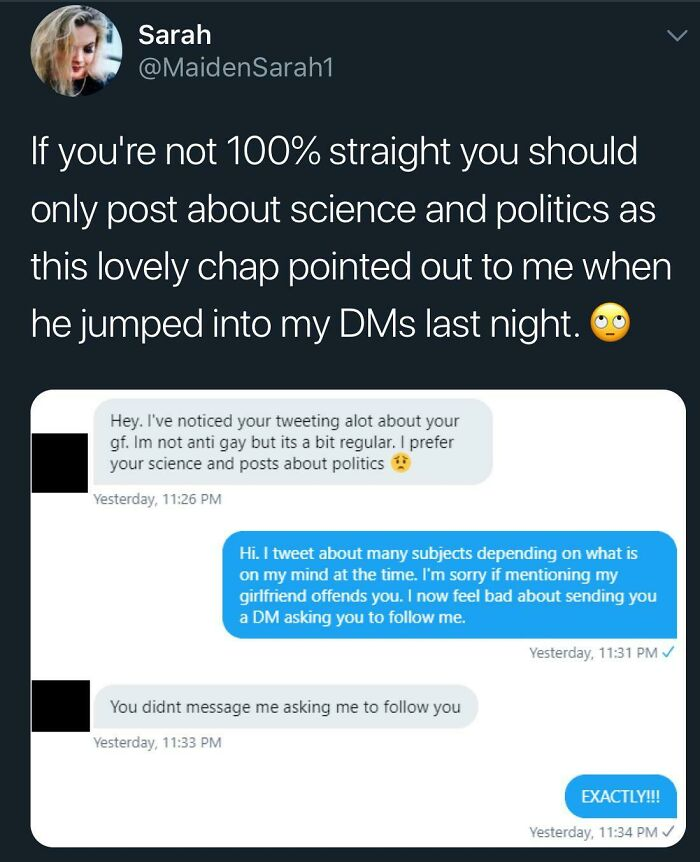 Don't Know About You Folks, But I Totally Get Asked To Follow People All The Time