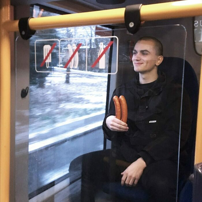 F You, I'm Bringing My Sausages On This Bus