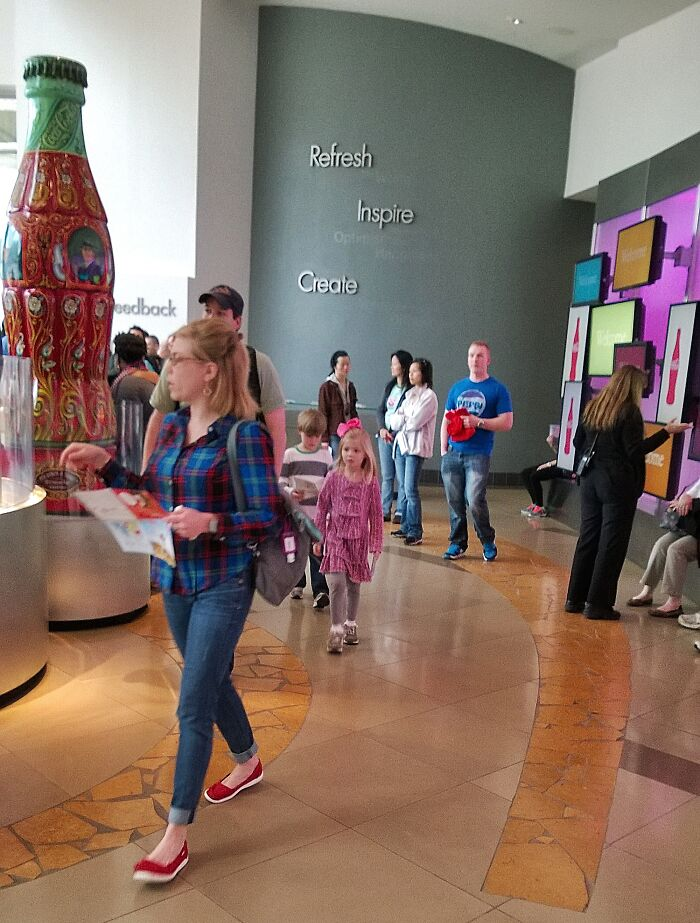 The Guy Who Wore A Pepsi Shirt To The World Of Coca-Cola Museum