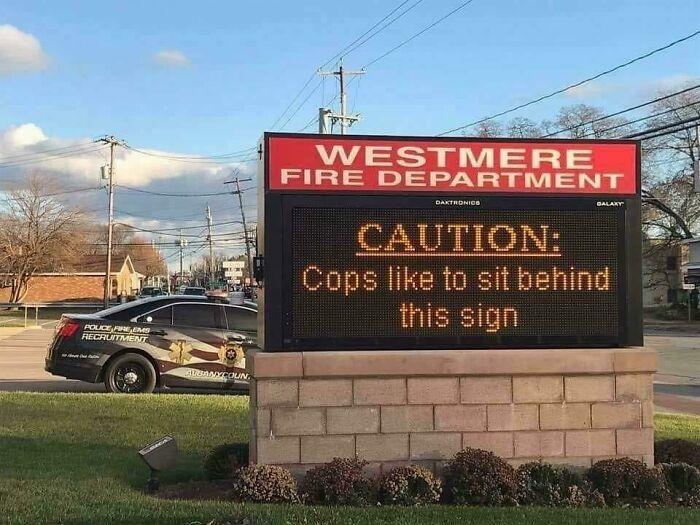 Firefighters > Cops