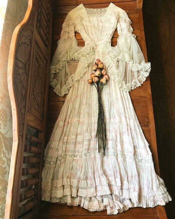 I Snagged This Edwardian Dress Yesterday. It's Just Too Stunning Not To Share