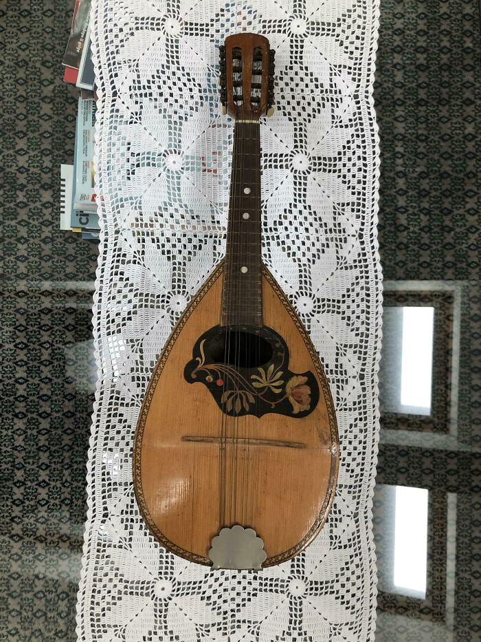 My Grandpa Just Gifted Me This 19th Century Mandolin