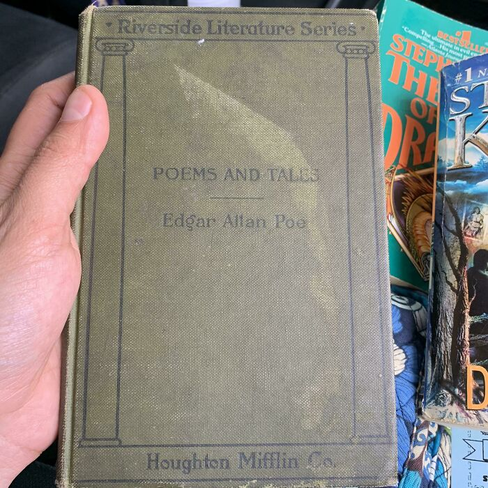 1897-1898, First Edition, Edgar Allan Poe -Poems And Tales. Found It At A Used Book Store.