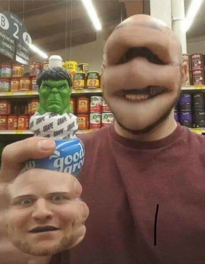 Yeah.. I Think Face Swap Was A Bad Idea