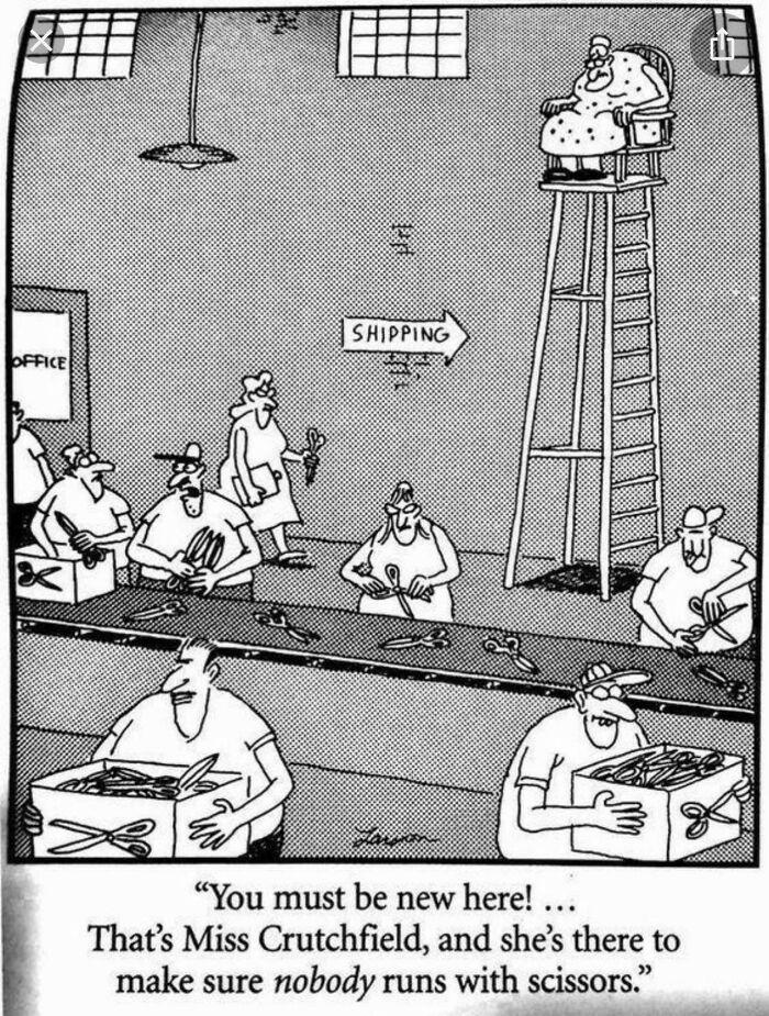 Scissor Factory Safety