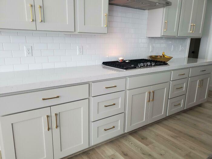 I Got Bids From Tile Setters To Do A Backsplash For $2000. I Ended Up Doing It Myself For Under $200