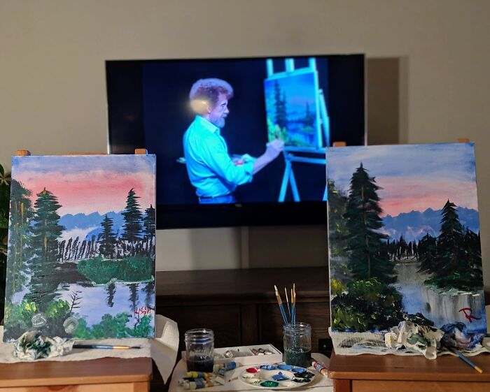 To Whoever Shared Wine And Painting Date Night Idea - Thank You!