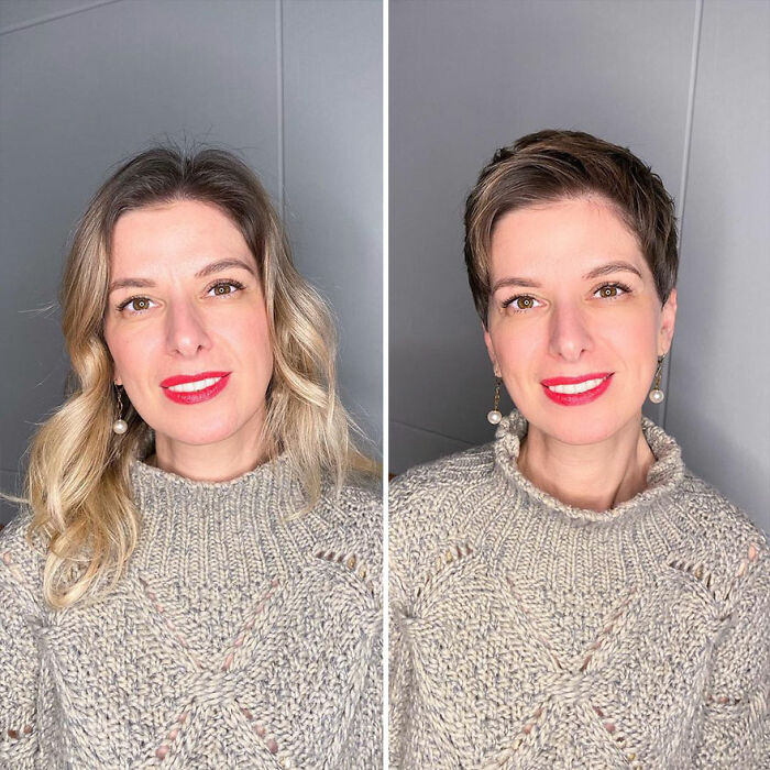 35 Women Who Dared To Get Their Hair Cut Short And Got Awesome Results Thanks To This Hairstylist (New Pics)