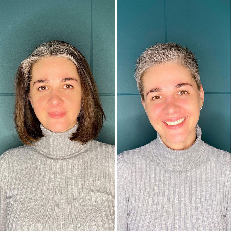 Hairstylist Shares 41 Women Who Took The Risk Of Cutting Their Hair Short And Didn't Regret It (New Pics)