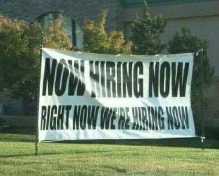 But When Are You Hiring?