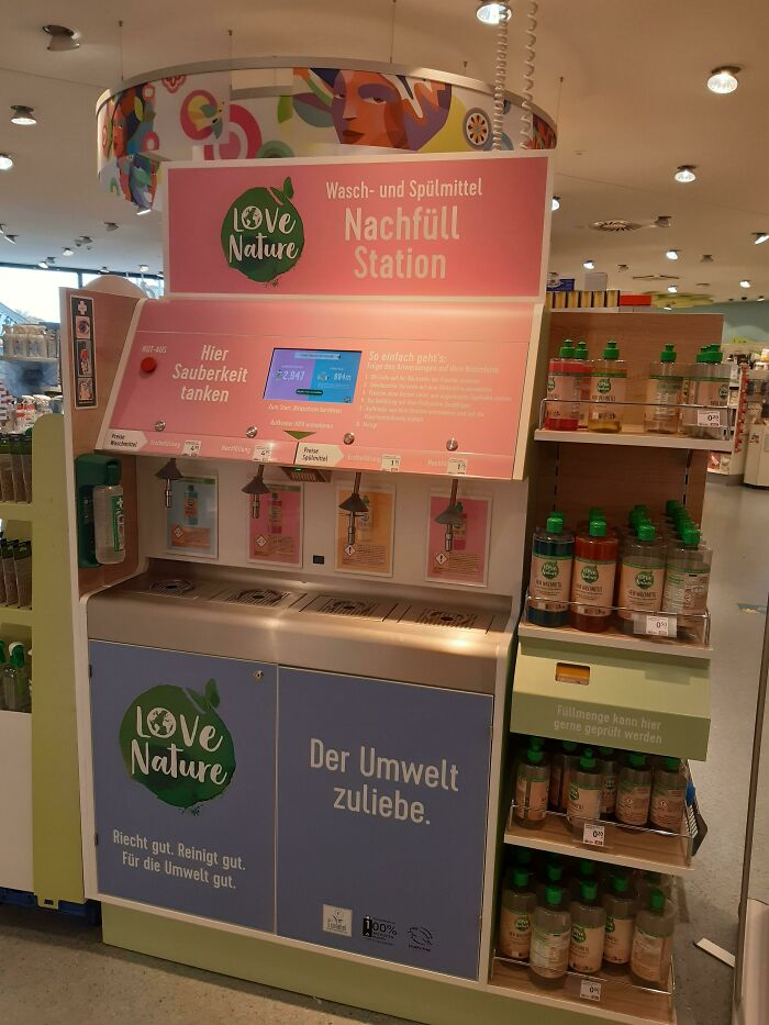 My Drugstore Just Got A Refill Station For Laundry And Dishwashing Detergent!