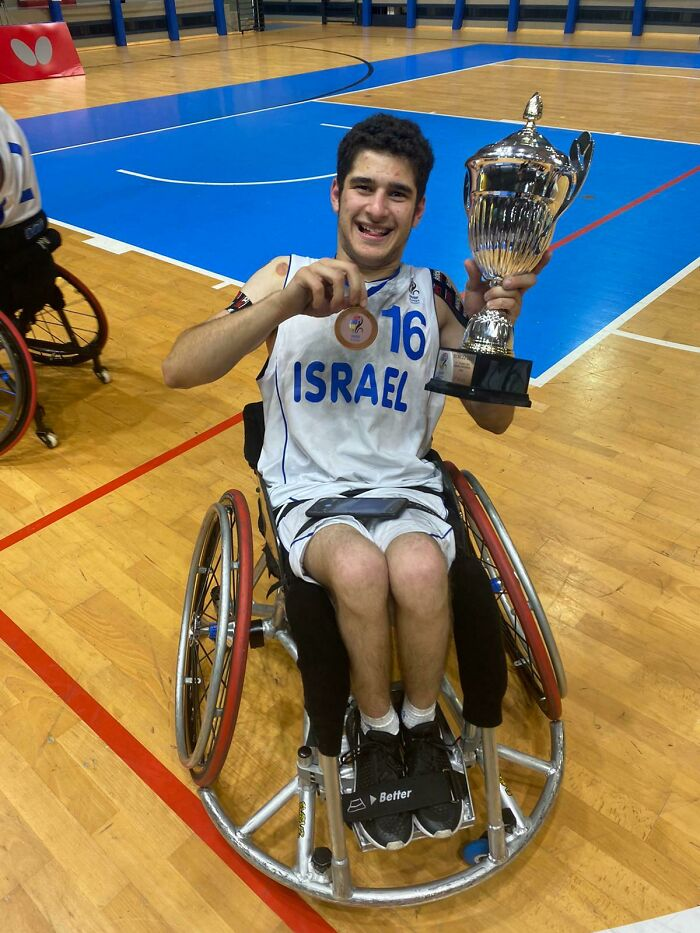 Had The European Championship For Wheelchair Basketball. Took The Bronze Medal, And A Ticket To The World Championships In Japan Next Year