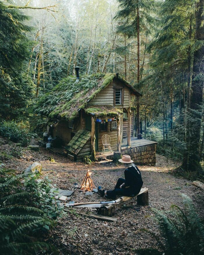 This Cabin In Washington State